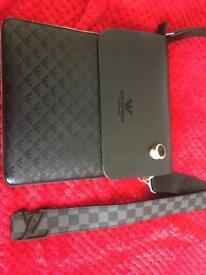 Armani pouch LV belt ring for sale