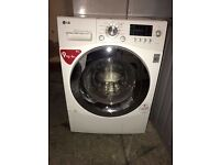 LG 9KG DIRECT DRIVER WASHING MACHINE & DRYER, 4 MONTHS WARRANT, FREE INSTALLATION