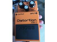 Classic Boss Ds-1 distortion pedal