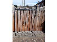 Wrought Iron Gate Ornate