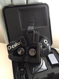 Oculus Rift V1 VR Virtual Reality Headset - Development Kit