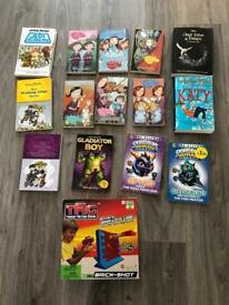Selection of Kids Books & Game - Enid Blyton, Jacqueline Wilson etc.