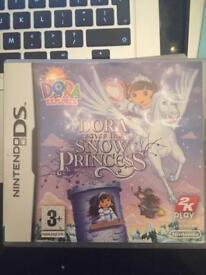 Nintendo DS Game - Dora saves the Snow Princess