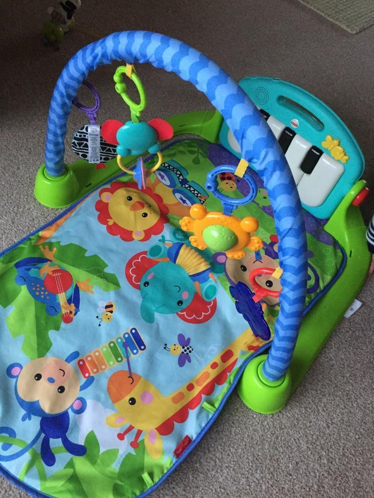 Fisher price baby activity play gym