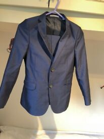 Boys Smart Suit from M&S age 7-8. Only worn once. Original price £50. Very good material.
