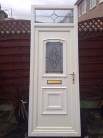 White door, UPVC
