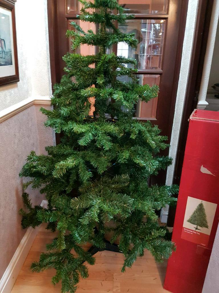 Argos 6 Foot Canadian Pine Xmas Tree 10 In Nuthall