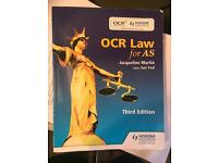 *LAW AS* OCR Law for AS (third edition)