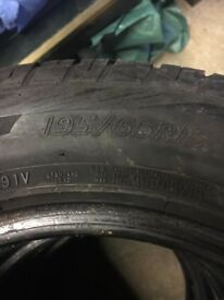"4 x Brand new 15"" tyres. Bargain."
