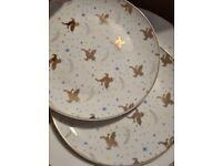 Unicorn plates NEVER USED!!