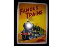 Piatnik Rail Art Classic Posters Playing Cards No 1511