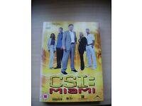 CSI: Miami Season 2 Episodes 2.1-2.12. New and Unplayed 3 DVD Set. £5.00.