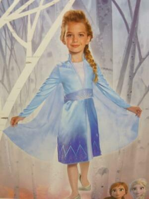 NWT Disney Frozen 2 II Elsa Costume Toddler's Size 3T-4T HC323