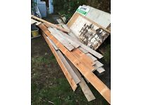 25+sqm reclaimed pine floor boards in good condition