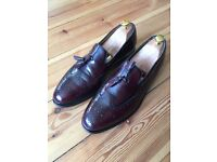Classic Men's Barkers Slip-on Tassel Loafer Brogues - Size 9.5