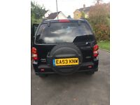 Jeep Cherokee CRD Ltd 2003. Auto. Diesel. 2776cc. 4 wheel drive. Alarm. Full leather seats. Air con