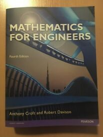 Mathematics for Engineers with MyMath Lab Global by Tony Croft, Robert Davison