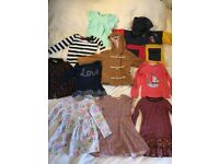 Bundle of girl's clothes 2-3 year old (10 items)