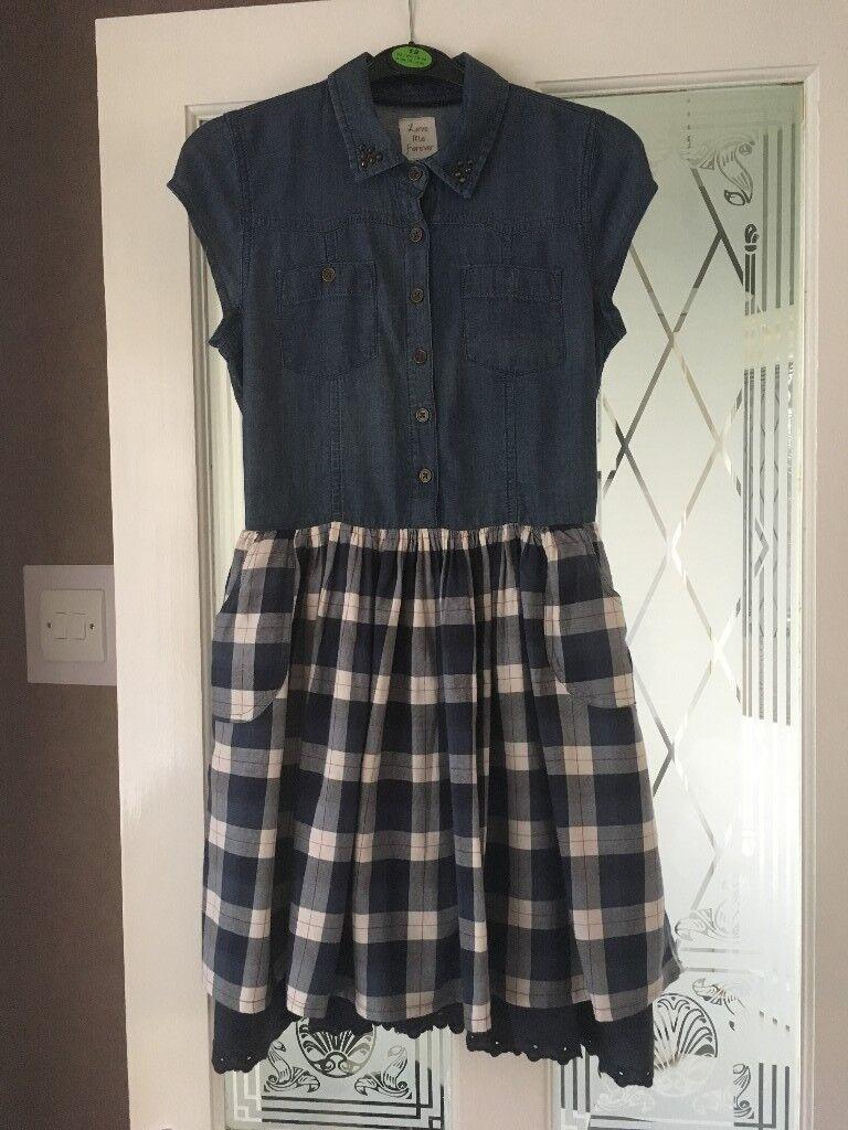 girls dress,age 12/13,£2.00