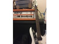 Ibanez, orange and cab for sale//whole lot or individual//contact me