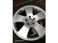 4 mercedes S class Alloy wheels with good tyres