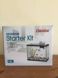 2 starter brand new fish tanks
