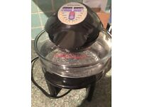 12L halogen oven new condition used once comes with all utensils spare bulb and. Ale tin
