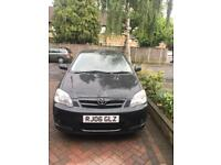2006 Black Toyota Corolla 1.6 engine automatic 34,212 miles