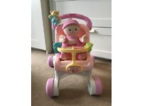 Fisher Price pushchair walker