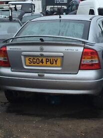 Wanted: MK4 Astra boot/ Tailgate SILVER