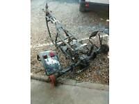 Suzuki GS trike Project