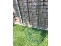 Wire mesh / fence coated