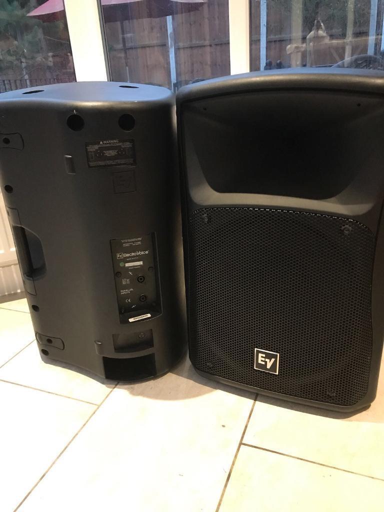 EV ZX4 Speakers