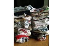 Baby boy big bundle clothes 0-3 months