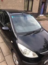 Adapted black 2009 Hyundai i10 Comfort 1.2 - excellent condition, very low mileage