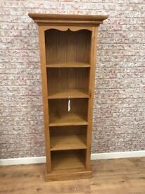 67cm wide oak bookcase