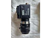 Keyence Machine Vision System with 3 Cameras (CV-3001P, CV-035M(x3), CA-U2, OP-84231 & CV-C3)