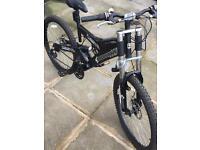 Shockwave bikes XT950 full suspension .Alloy 6061