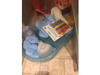 Matching baby bath/top&tail bowl
