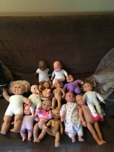 large doll lot