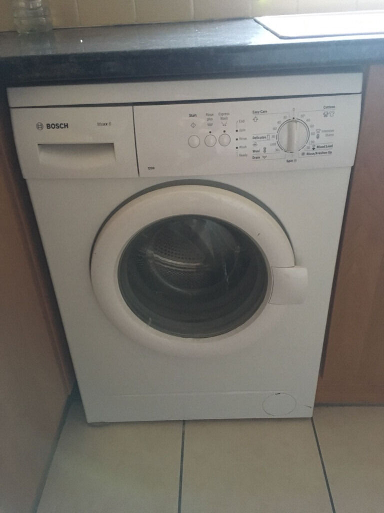 washing machine bosch maxx 6 1200 in norbury london. Black Bedroom Furniture Sets. Home Design Ideas