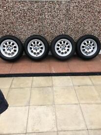 """BMW alloy wheels 15"""""""
