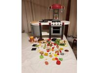 Tefal Mini Toy Kitchen and Toy Food