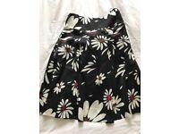Monsoon flowers pattern skirt, size 10