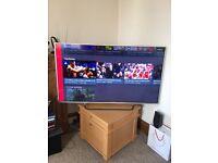 "Sony Bravia 3D Television, 4K LCD Screen,Sony 5kg,55"" inch colour TV. & Blu-ray Home Cinema."