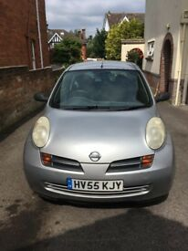 Nissan Micra 2005 in very good working condition.