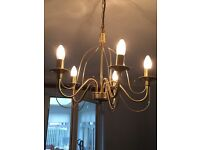 Ceiling light ideal for over dining table
