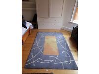 Hand-tufted 100% wool rug - John Lewis 'Miro' design