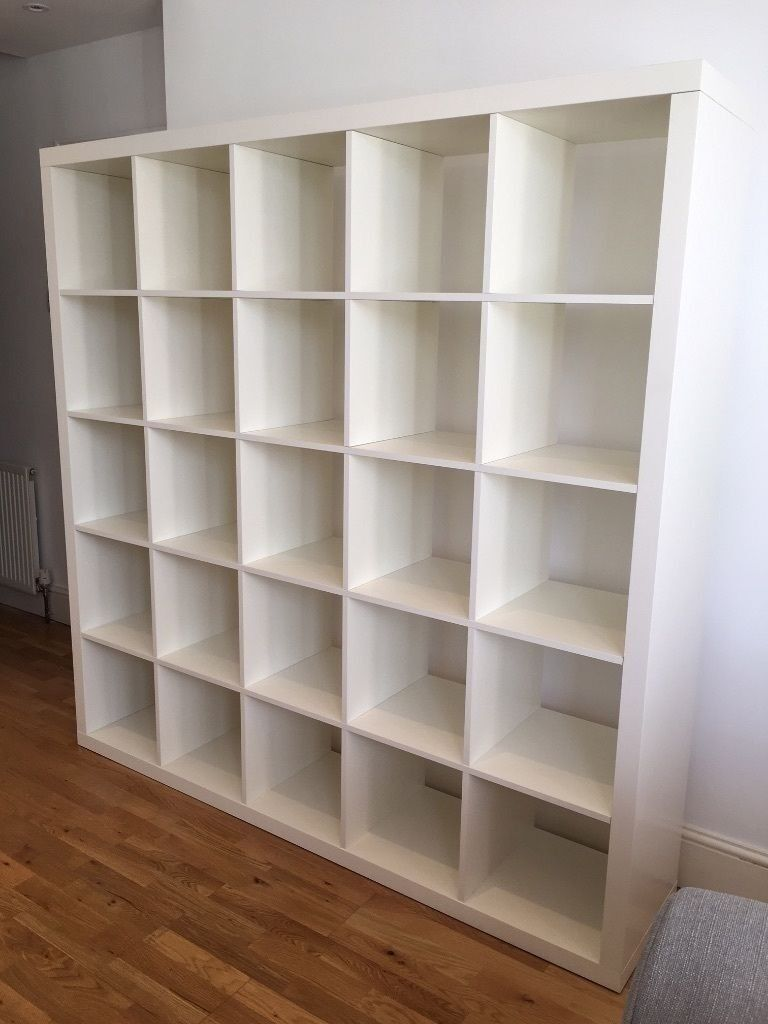 Ikea Kallax White Home Office Room Divider Bookcase