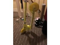 Yellow scooter in good condition